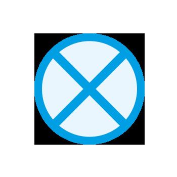 no cross contamination